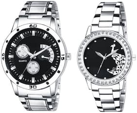 Miss Perfect 012 Alloy Couple Watch