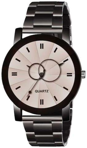Men White Analog Watches