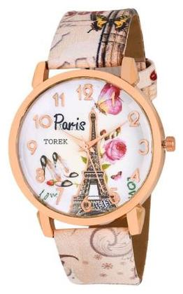 Miss Perfect Paris Affil Tower New Arrival Leather MulticolourFor Women And Girls Watch