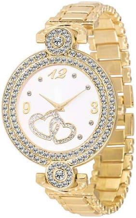 MISSPERFECT Gold Fashion Italian Design Women Analog watch for Girls and Ladies Watch - For Women