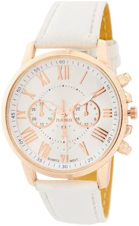 MISSPERFECT Wedding Collection White Chronograph Look Blue Strap Best Deal Fast Selling Woman Watch