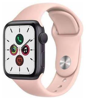 Unisex Pink Smart Watch