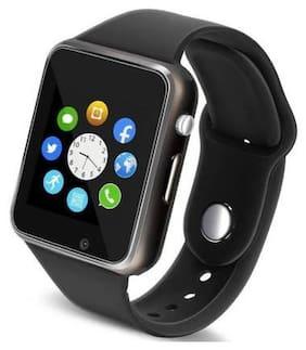 Moblix 4G A1 Android Smart Watch (Black Colour Free Size) Unisex Fashion