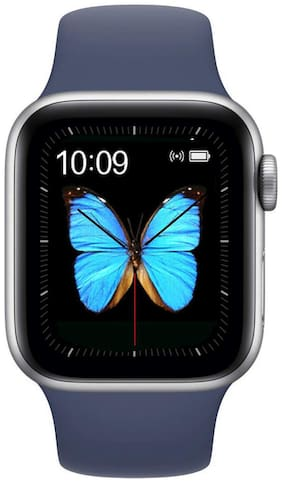 Moblix T500 Series 44 mm Smart Watch (Blue)