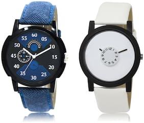 Men Black;White Analog-Digital Watch