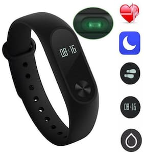 QUXXA Compatible M2.0 Smart fitness Band With Heart Rate Sensor/Pedometer/Sleep Monitoring Functions
