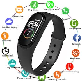QUXXA M4 Fitness Tracker Heart Rate Monitoring Band Designed For Smart Devices