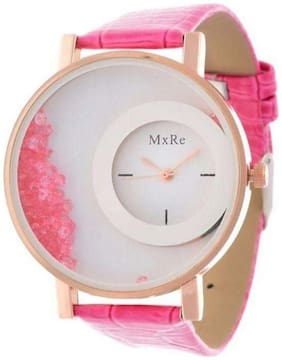 Mxre Pink Fancy Analog Watches(Pack of 5)