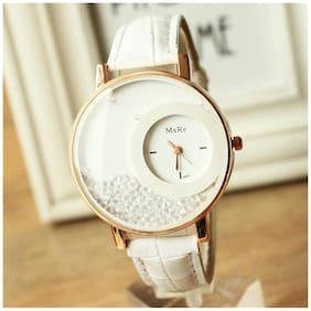 Mxre Women Designer diamond watch white(Pack of 5)