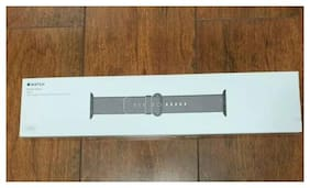 NEW    Apple Watch 40mm 38mm Authentic GENUINE Woven Nylon Band Steel Buckle Blk