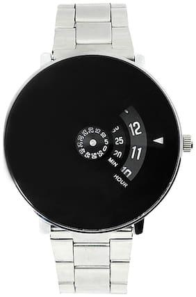 NEWMAN Men's Black Dial Analog-Digital Watches