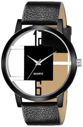 Men Black Analog Watches