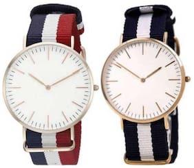 New Design Stylisht Watch Combo Of 2 For Men