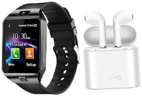 New Smartwatches Phonewatch With Free Bluetooth Earphones