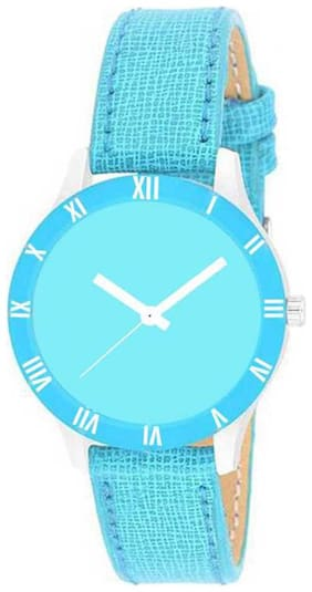 New Trendy Synthetic Leather belt Watch For Girls And Womens
