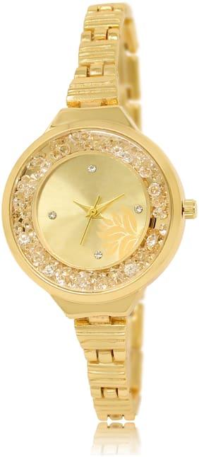 Women Gold Analog Watch