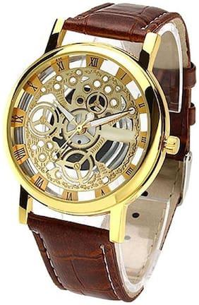 Gold Analog Watch