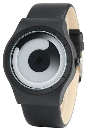 NEWMEN Automatic Black Spinner Dial Turnable Unique For Unisex Watch - For Men & Women