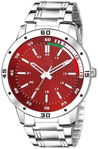 NiyatiFab Csamon 08 Men Red - Analog Watch