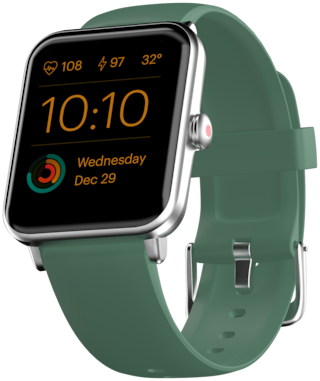 Noise Colofitpro3 Unisex 39.37 mm Green Smart Watch