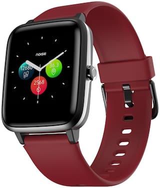Noise Colofitpro 2 Unisex 33 mm Red Smart Watch