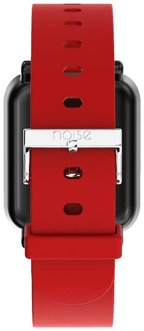 Noise Single Color Basic Silicone Strap for ColorFit Pro Smartwatch - Red