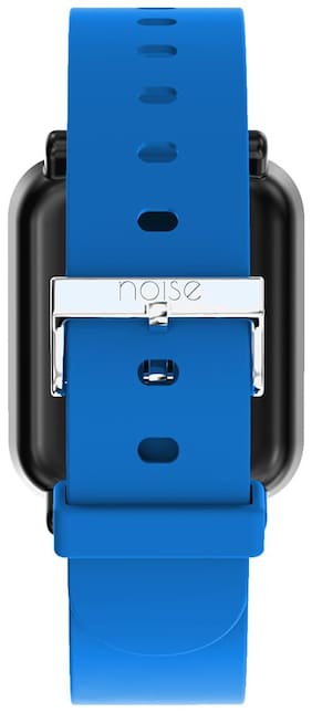 Noise Single Color Basic Silicone Strap for ColorFit Pro Smartwatch - Blue