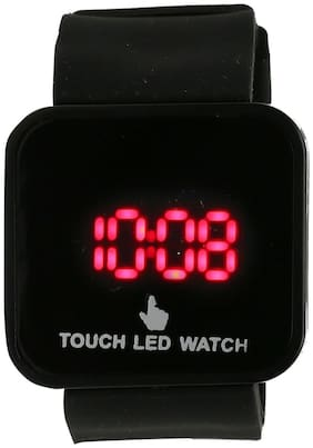 North Moon Touch Screen Black Digital Men's Watch
