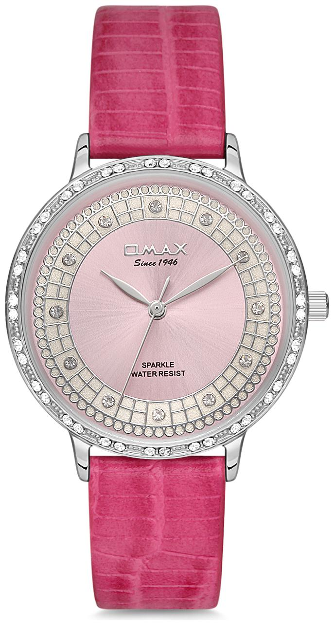 OMAX SPL01P88I Women Pink Analog Watch by Omax Watches