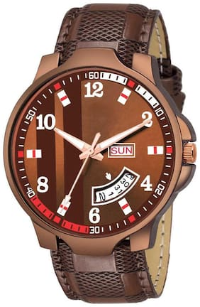 Orfisa Analogue Stainless Dial Analog Watch - For Men