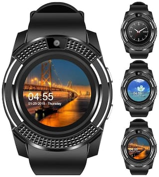Original High Quality V8 Smartwatch with Pedometer;Camera;Sim Card;Sleep Monitoring Support for all Android/IOS Smartphone