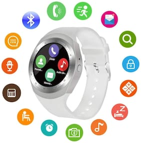 Original Premium Quality Y1 Smartwatch with Pedometer;Remote Camera;Sim Card and Sleep Monitoring Support for all Smartphone