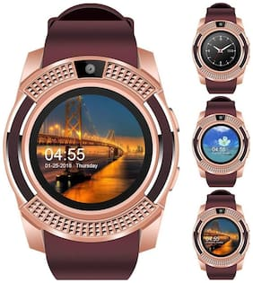 Original Premium Quality V8 Smartwatch with Pedometer;Camera;Sim Card;Sleep Monitoring Support for all Android/IOS Smartphone