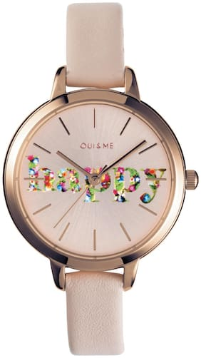 OUI&ME Petite Fleurette Analog Rose Gold Round Dial Women's Watch - ME010009