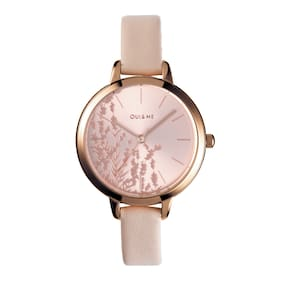 OUI&ME Petite Fleurette Analog Rose Gold Round Dial Women's Watch - ME010064
