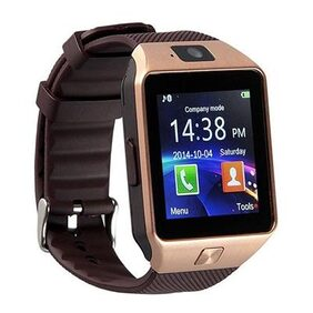 Pattern T30 GOLD Bluetooth Smart Notification Smartwatch With Sim and Camera.
