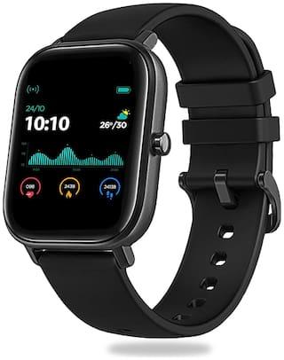 Pebble Pace Unisex 36 mm Black Smart Watch