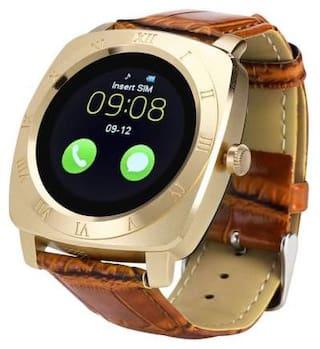 MECKWELL X3 Unisex 28 mm Gold Smart Watch