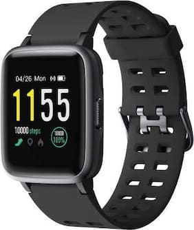 Play SW75 Full Touch Smartwatch with 24 hour Health Monitoring,Swimproof,upto 15 days Battery Life,and Social Notifications
