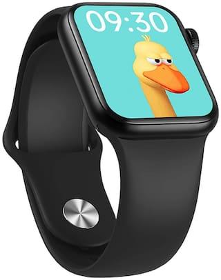 Pokryt HW12 Unisex 44 mm Black Smart Watch