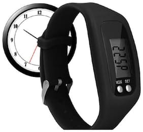 Popmode Digital Watch Fitness & Activity Tracker;Time;Step Counter;Calories;Distance