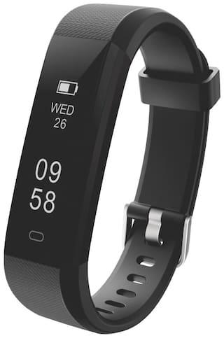 Portronics POR-924 Yogg Plus Smart Fitness Wristband (Black)