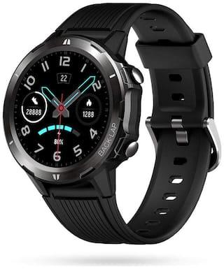 Portronics POR-1037 Unisex 11 mm Black Smart Watch