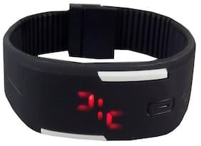 PRODUCTMINE Black LED Watch