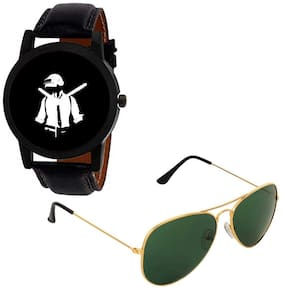 PUBG Watches with Free Sunglasses