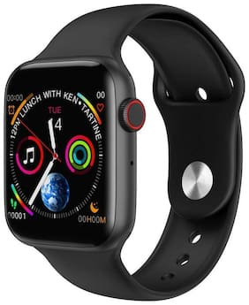 PUNIX W34+ Plus Smart Watch Infinite Screen by 44mm with Full Touch Display Bluetooth Call ECG Temperature Smart Watch Android & iOS