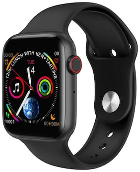 PUNIX W34 Smart Watch Infinite Screen by 44mm with Full Touch Display Bluetooth Call ECG Temperature Smart Watch Android & iOS