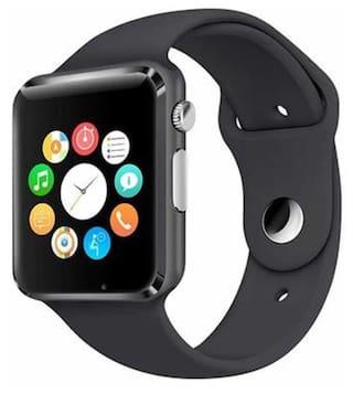 QP360 A1 Unisex 40 mm Black Smart Watch