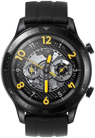 realme S Pro Unisex 1.39 mm Black Smart Watch