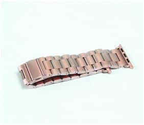 Rose Gold Stainless Steel Bracelet Band 38MM Apple Watch box damage (7b)